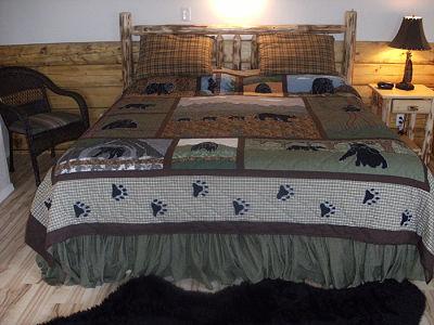 Unique babymoon idea - a log cabin in Alaska