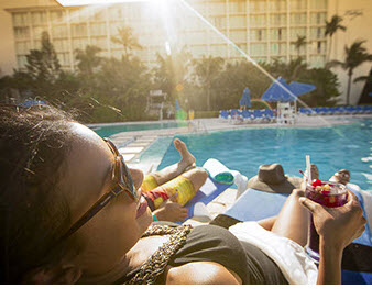 Bahama Babymoon Vacation at Breezes