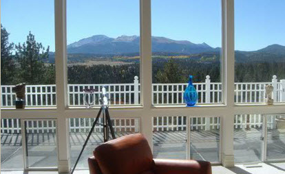 Colorado babymoon at Pikes Peak Paradise