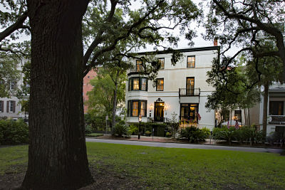 Babymoon in Savannah at The Ballastone