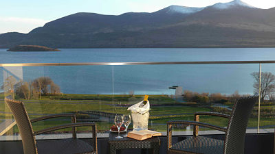 Ireland's Europe Hotel for a babymoon holiday