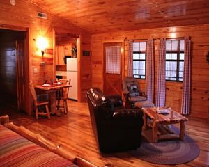Enjoy a babymoon break in these log cabins in Oklahoma