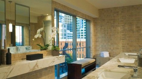 Washington pregnancy massage at the Seattle Four Seasons Hotel