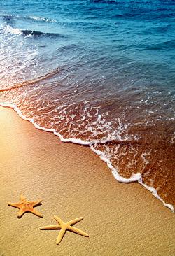 Beach babymoon