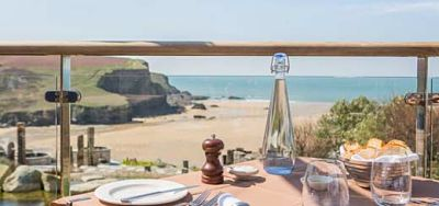 Babymoon in Cornwall at the Scarlet Hotel