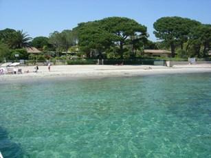 One of Tahiti's Beautiful Beaches